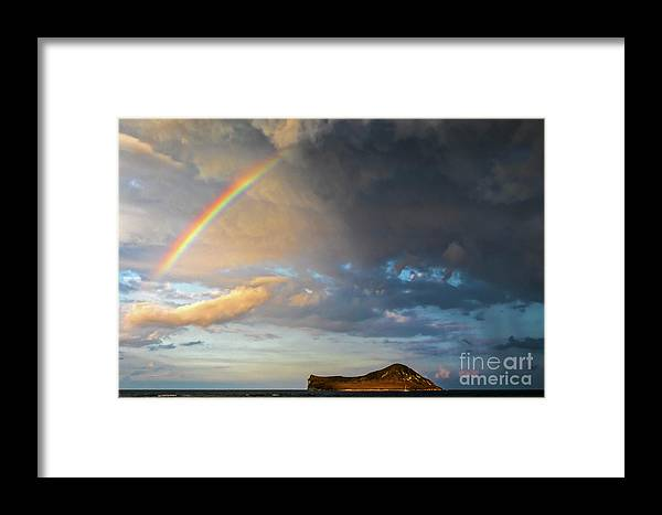 Color Of The Rain Framed Print featuring the photograph Color Of The Rain by Mitch Shindelbower