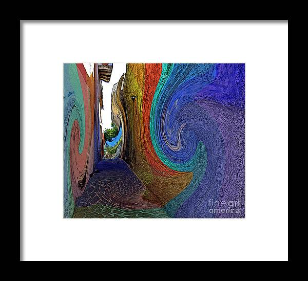 Malfa Framed Print featuring the photograph Color Undertow by Ayesha DeLorenzo