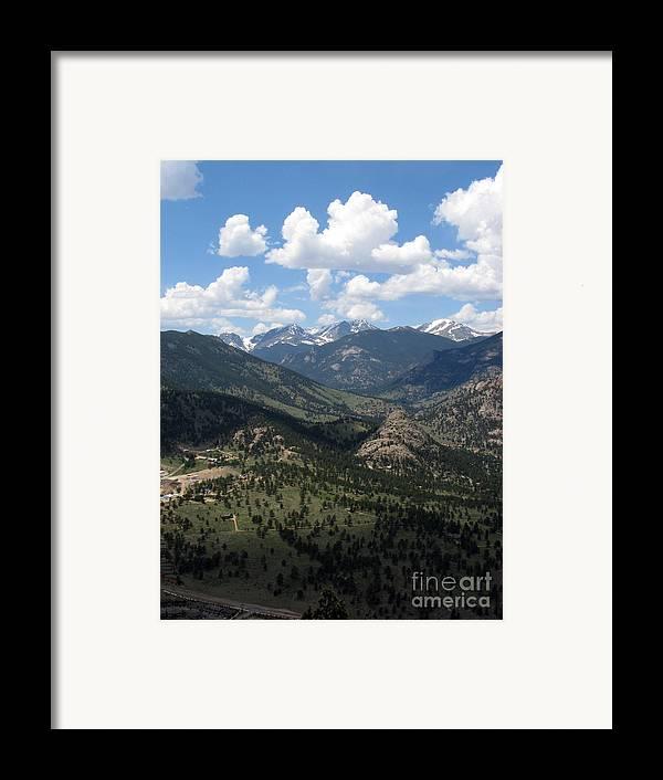 Colorado Framed Print featuring the photograph Colorado by Amanda Barcon