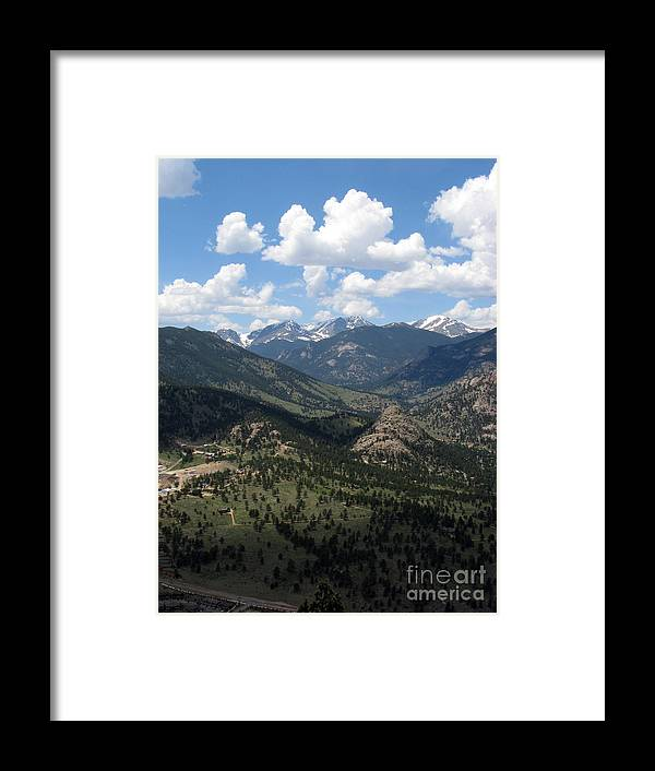 Colorado Framed Print featuring the photograph Colorado by Amanda Barcon