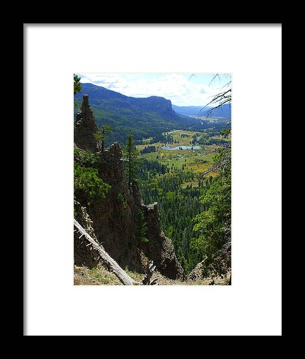 Colorado Framed Print featuring the photograph Colorado Landscape by Allison Jones