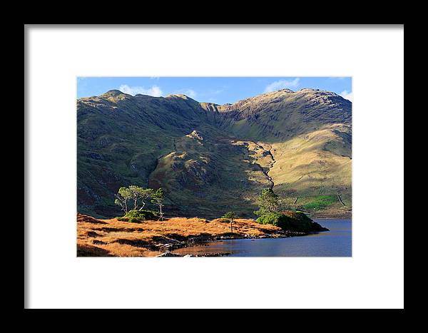 Connemara Framed Print featuring the photograph Colorful Connemara Landscape Ireland by Pierre Leclerc Photography