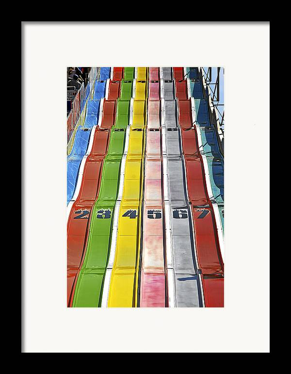 Colors Framed Print featuring the photograph Colors Are A Photographers Life by Christine Till