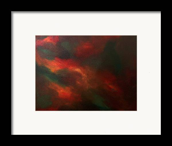 Abstract Framed Print featuring the painting Colors In Mind by Guillermo Mason