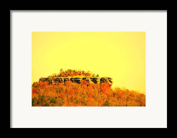 Landscape Framed Print featuring the photograph Colors Of Fall by Lisa Johnston