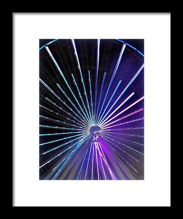 Color Framed Print featuring the photograph Colorwheel by Pics by Jody Adams