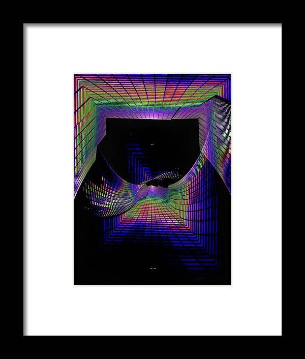 Seattle Framed Print featuring the digital art Columbia Tower Vortex by Tim Allen