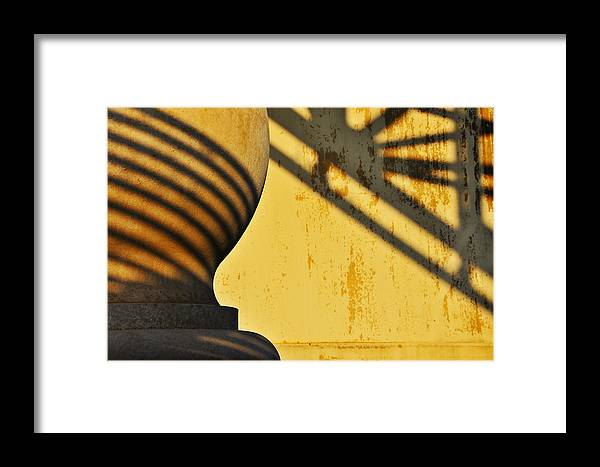 Architecture Framed Print featuring the photograph Comb Over by Skip Hunt