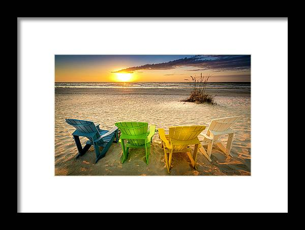 Florida Framed Print featuring the photograph Come Relax Enjoy by Marvin Spates