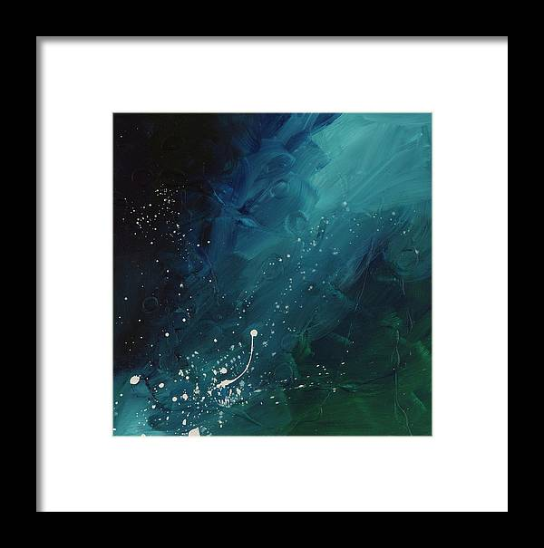 Comet Framed Print featuring the painting Comet by Chelsie Ring