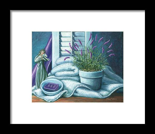 Painting Framed Print featuring the painting Comfort by Colleen Maas-Pastore