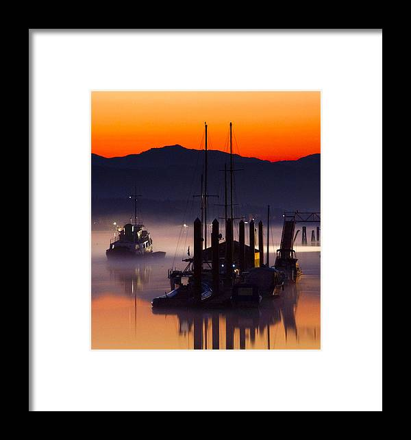 Boat Framed Print featuring the photograph Coming Home by Detlef Klahm