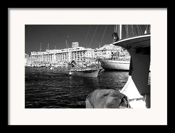Coming Home In Marseille Framed Print featuring the photograph Coming Home In Marseille by John Rizzuto