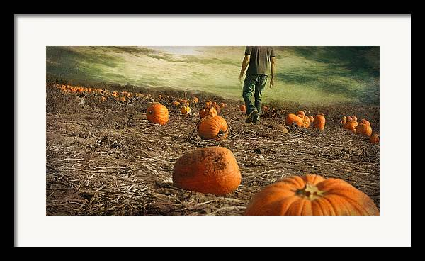 Fall Framed Print featuring the photograph Coming Soon by Inesa Kayuta