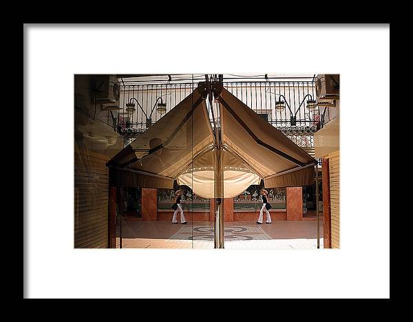 Jez C Self Framed Print featuring the photograph Coming To Meet You by Jez C Self