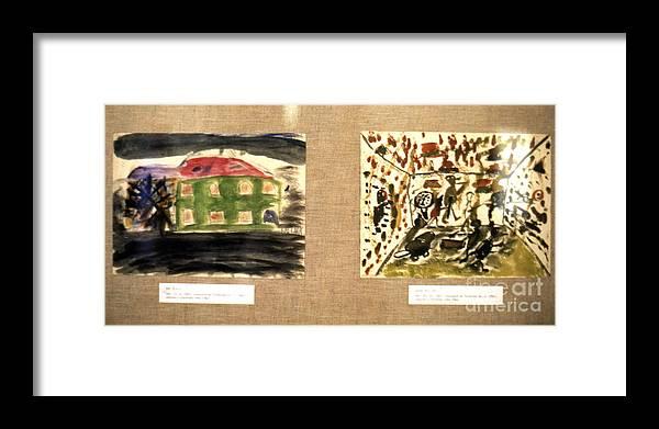 Erik Framed Print featuring the photograph Concentration Camp Art by Erik Falkensteen