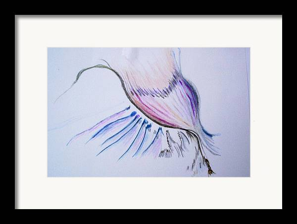 Abstract Painting Framed Print featuring the painting Conception by Suzanne Udell Levinger