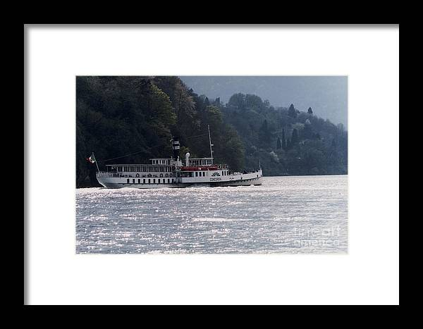 Paddle Ship Framed Print featuring the photograph Concordia by Riccardo Mottola