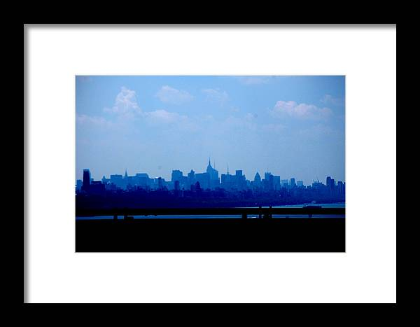 Framed Print featuring the photograph Concrete Jungle by Samantha Backhaus