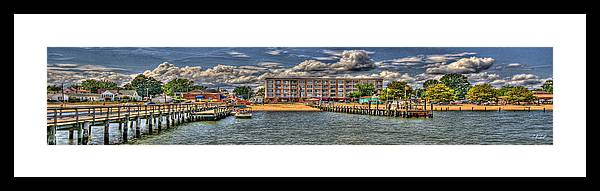 River Framed Print featuring the photograph Condo by E R Smith