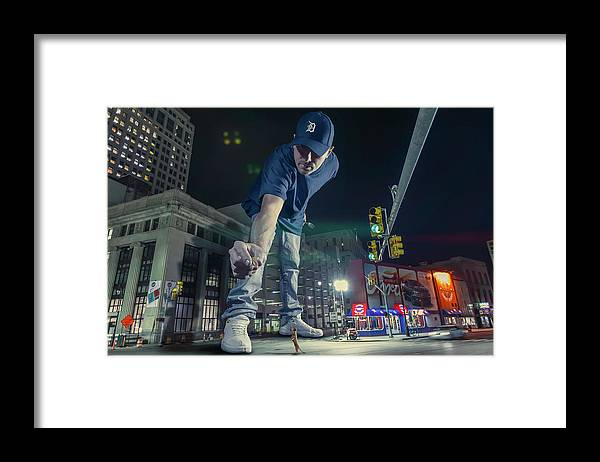 Dj Just Nick Framed Print featuring the photograph Coney Anyone? by Nicholas Grunas