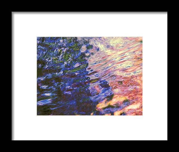 Abstract Framed Print featuring the photograph Congruent Forces by Sybil Staples
