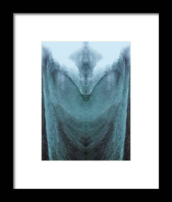Abstract Framed Print featuring the photograph Conjuration by Jane Tripp