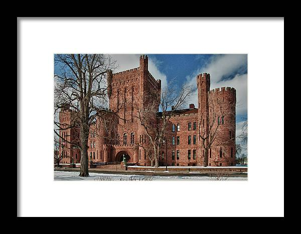 Armory Framed Print featuring the photograph Connecticut Street Armory 3997a by Guy Whiteley