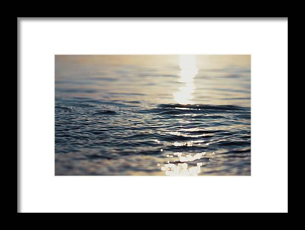 Ocean Framed Print featuring the photograph Contemplation 2 by Andrea Anderegg