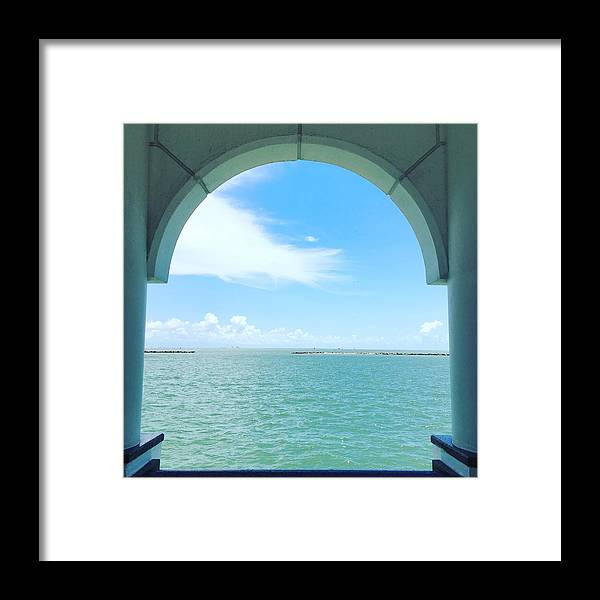 Bay Framed Print featuring the photograph Contemplation by Angela Resendez