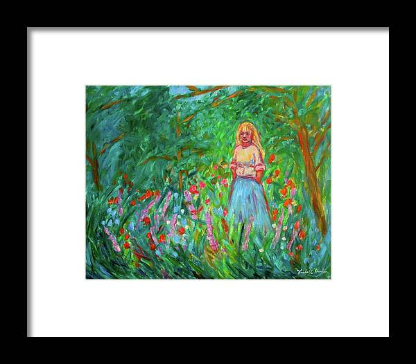 Landscape Framed Print featuring the painting Contemplation by Kendall Kessler