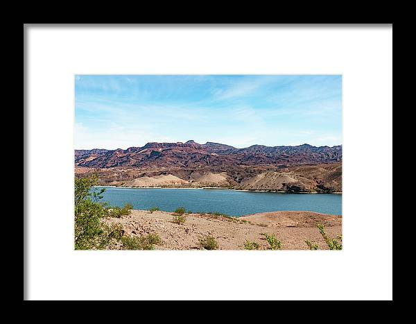 River Framed Print featuring the photograph Contrast by Michelle Rollins