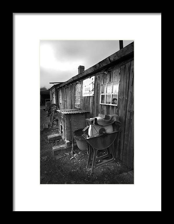 Shack Framed Print featuring the photograph Cool Shack Too by Bob Kemp
