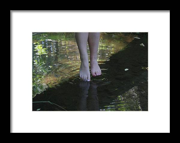 Water Framed Print featuring the photograph Cool Water by Rebecca Smith