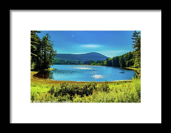 Fine Art Photography Framed Print featuring the photograph Cooper Lake by Nicholas Costanzo