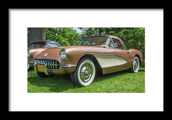 Copper Framed Print featuring the photograph Copper 1967 Corvette by Bill Ryan