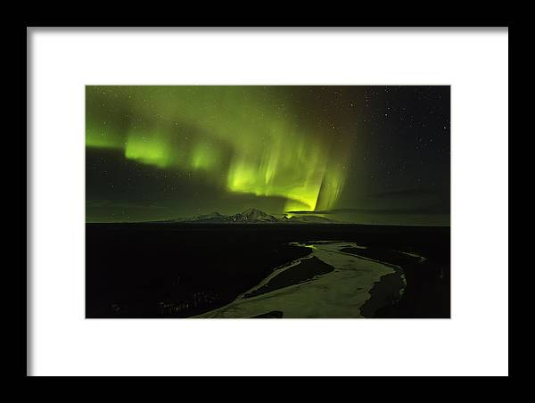 Alaska Framed Print featuring the photograph Copper Ribbon by Ed Boudreau