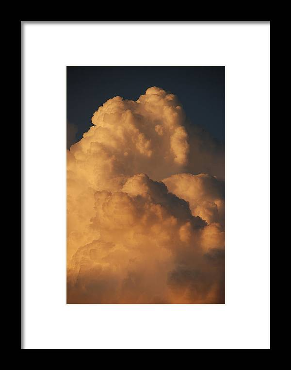 Clouds Framed Print featuring the photograph Coppermouth by Rob Hans