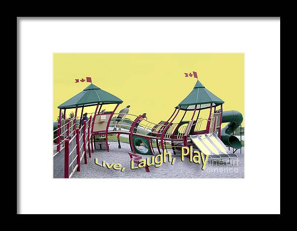 Playground Framed Print featuring the photograph Cornwall Play by Jacqueline Milner