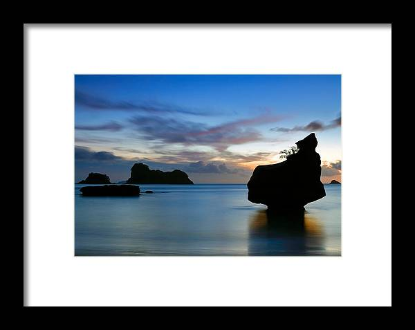 Coromandel Framed Print featuring the photograph Coromandel Dawn by Nicholas Blackwell