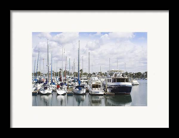 Coronado Framed Print featuring the photograph Coronado Boats II by Margie Wildblood