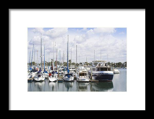 Coronado Framed Print featuring the photograph Coronado Boats II by Margie Wildblood