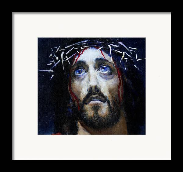 Altar Framed Print featuring the painting Coronation D by Valeriy Mavlo