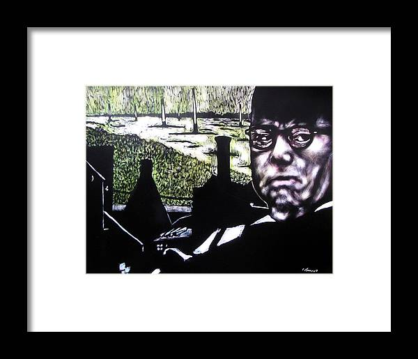 Framed Print featuring the mixed media Corporate Ambition by Chester Elmore