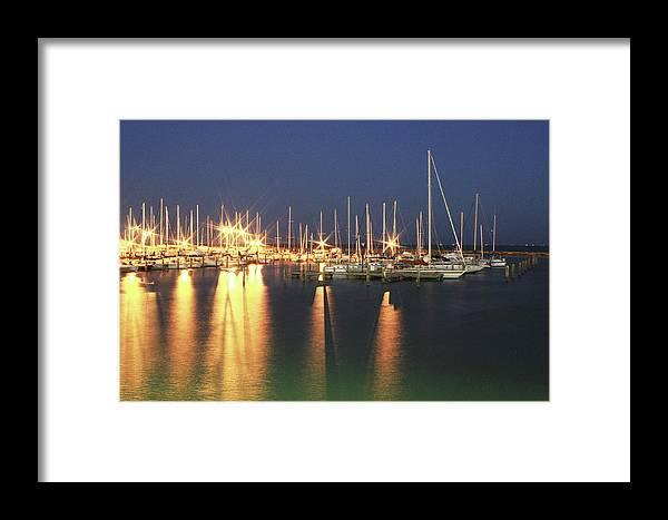 Marina Framed Print featuring the photograph Corpus Christi Marina by Errol Allen