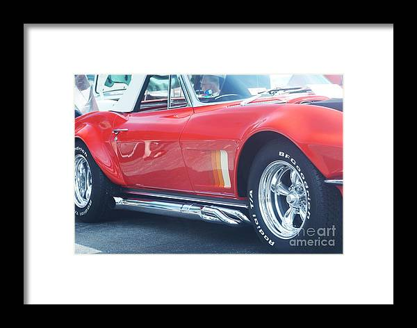 Corvette Framed Print featuring the photograph Corvette Soft Top by Rob Luzier