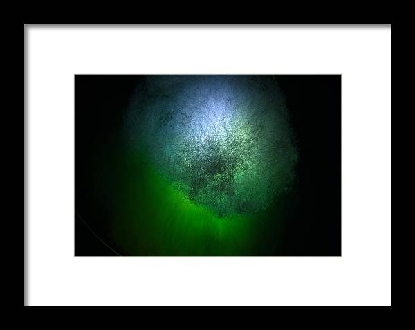 Abstract Framed Print featuring the photograph Cosmic Cloud by Denise Mazzocco