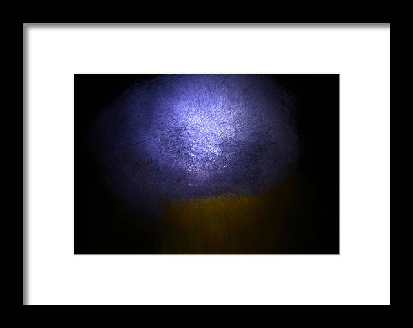Abstract Framed Print featuring the photograph Cosmic Explosion by Denise Mazzocco