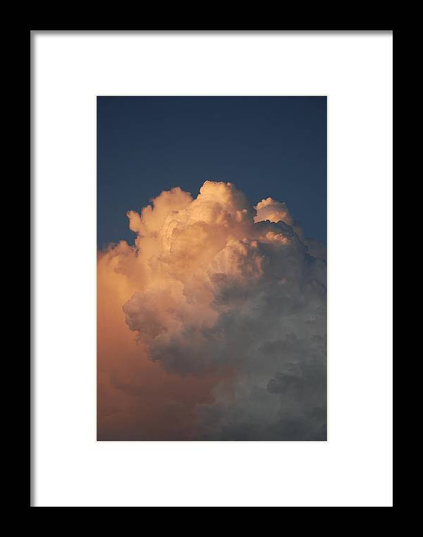 Clouds Framed Print featuring the photograph Cottonballs by Rob Hans