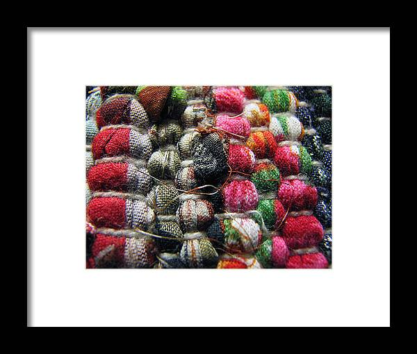 Macro Framed Print featuring the photograph Country Colors by Joanne Coyle